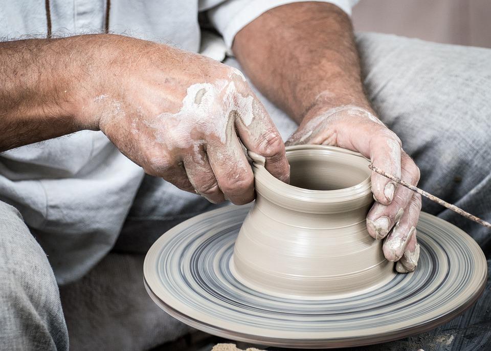 Marokkansk keramik og bambus solsenge på tinekhome.com